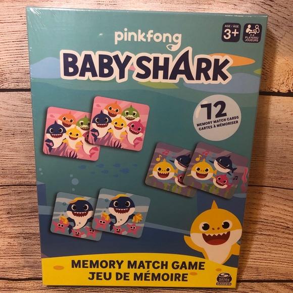 Baby Shark Memory Match Game